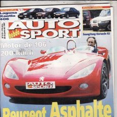 Coches: REVISTA AUTO HEBDO SPORT Nº 619 AÑO 1997. PRU: BMW Z3 2.8. COMP: XANTIA ACTIVA V6, PEUGEOT 406 V6.. Lote 104504243