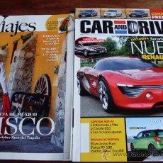 Coches: LOTE REVISTAS DE VIAJES N: 139 Y CAR AND DRIVER N:181. Lote 23162719