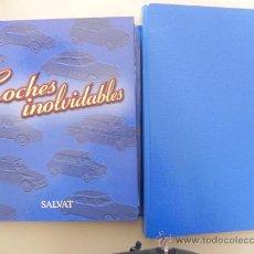 Coches: LOTE DE 2 CARPETAS -COCHES INOLVIDABLES DE SALVAT- 34 FASCÍCULOS. (LG00017). Lote 23381196