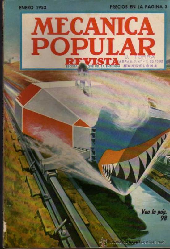REVISTA MECÁNICA POPULAR - ENERO 1953 (Coches y Motocicletas Antiguas y Clásicas - Revistas de Coches)