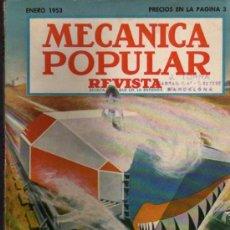 Coches: REVISTA MECÁNICA POPULAR - ENERO 1953. Lote 26399339