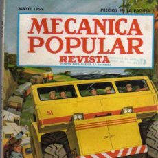 Coches: REVISTA MECÁNICA POPULAR - MAYO 1955. Lote 26470291