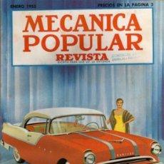 Coches: REVISTA MECÁNICA POPULAR - ENERO 1955. Lote 26470293