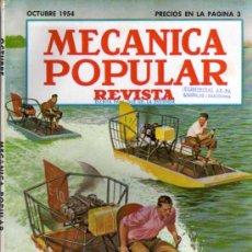 Coches: REVISTA MECÁNICA POPULAR - OCTUBRE 1954. Lote 26421210