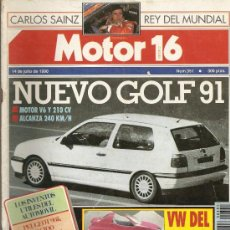 Coches: MOTOR16 - NUM351-14 JUL1990. Lote 23949365