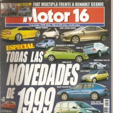 Coches: MOTOR 16 - NUM794-5 ENE 1999. Lote 24007580
