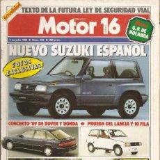 Coches: MOTOR 16 - NUM245-2 JULIO 1988. Lote 24053330