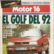 Coches: MOTOR 16 NUM409-24 AGOSTO 1991. Lote 24053986
