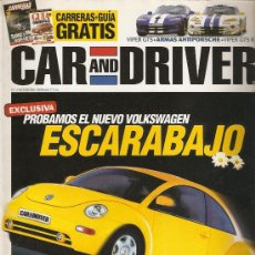 Coches: CAR AND DRIVER NUM29 FEBRERO 1998. Lote 24063160