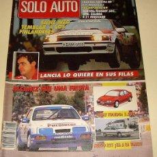 Coches: SOLO AUTO ACTUAL Nº 65 1989. Lote 25578162