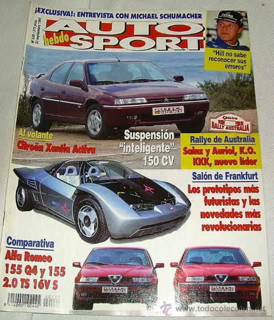 AUTO HEBDO SPORT 530 DE 1995 (Coches y Motocicletas Antiguas y Clásicas - Revistas de Coches)