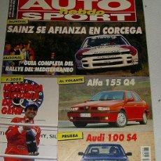Coches: AUTO HEBDO SPORT 366 DE 1992. Lote 25846852