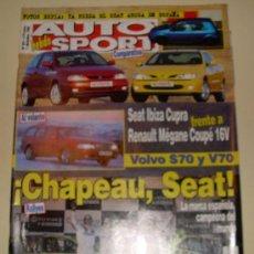 Coches: AUTO HEBDO SPORT 591 - DE 1996. Lote 24646552