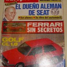 Coches: AUTOPISTA 1403 - DE 1986. Lote 24646711