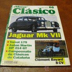 Coches: MOTOR CLASICO Nº 68-PARA AMIGOS DE LOS AUTOMOVILES CLASICOS-JAGUAR MK VII- AÑO1.993. Lote 24739321