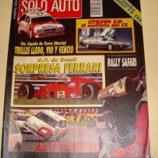 Coches: SOLO AUTO ACTUAL 54 DE 1989. Lote 24740733