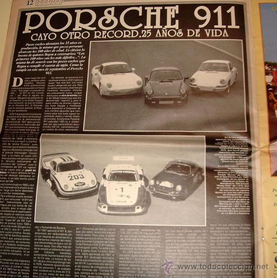 Coches: Solo Auto Actual 37 de 1988 ( Gran formato tamaño periódico,) - Foto 4 - 26259181