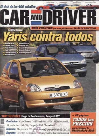 REVISTA CAR AND DRIVER Nº 45 AÑO 1999. PRUEBA: SUZUKI JIMNY. COMP: GALLOPER SANTANO Y HYUNDAI H1. (Coches y Motocicletas Antiguas y Clásicas - Revistas de Coches)