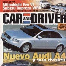 Coches: REVISTA CAR AND DRIVER Nº 63 AÑO 2000. PRUEBA: MITSUBISHI MONTERO DID GLS. COMP: OPEL CORSA DTI. Lote 24776762
