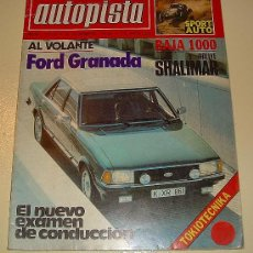 Coches: AUTOPISTA Nº 1079 DICIEMBRE 1979. Lote 26409942