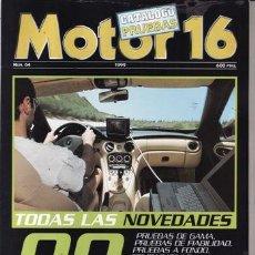 Coches: REVISTA MOTOR 16 Nº 64 AÑO 1999. CATALOGO PRUEBAS. 12. Lote 25362277