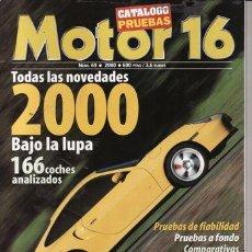 Coches: CATALOGO MOTOR 16 Nº 69 AÑO 2000. PRUEBAS 2000. . Lote 25362359