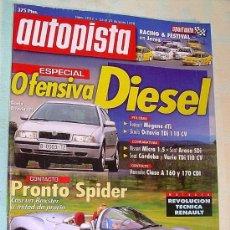 Coches: AUTOPISTA Nº 2032 - 1998. Lote 100363978