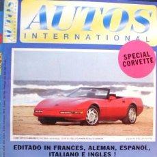 Coches: REVISTA AUTOS INTERNACIONAL Nº 47 DE MAYO DE 1994, 64 PÁGINAS Y MÁS DE 500 FOTOGRAFIAS DE COCHES. Lote 27087031