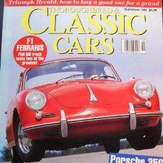 Coches: REVISTA CLASSICS CARS DE SEPTIEMBR DE 1996 TEXTO EN INGLES, 236 PGS. DEL MUNDO DEL AUTOMOVIL CLASICO. Lote 27087052