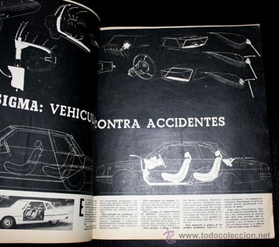 Coches: ANTIGUA REVISTA DEL MOTOR VELOCIDAD - 26 JUNIO 1965 - Nº 198 - LE MANS , BMW 2000 CS , DAUPHINE COUP - Foto 2 - 25683900