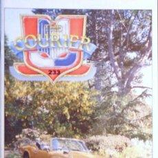 Coches: REVISTA THE COURIER EN INGLES Nº 233 NVBRE. DE 1999 EDITADA POR THE TRIUMPH SPORTS CLUB-TODO TRIUMP. Lote 27324743