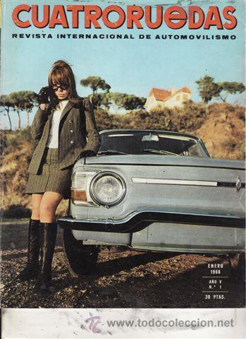 REVISTA CUATRORUEDAS Nº 1 AÑO 1968. PRUEBA: AUDI SUPER 90. (Coches y Motocicletas Antiguas y Clásicas - Revistas de Coches)