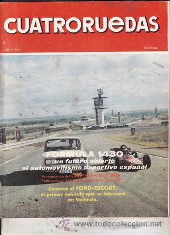 REVISTA CUATRORUEDAS Nº 7 AÑO 1973. (Coches y Motocicletas Antiguas y Clásicas - Revistas de Coches)