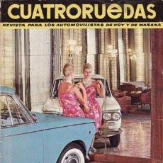 Coches: REVISTA CUATRORUEDAS Nº 11. AÑO 1964. CONSERVACIÓN: TENER EL 600 EN ORDEN. . Lote 25956849