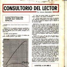 Coches: REVISTA CUATRORUEDAS. . Lote 25956862