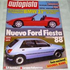 Coches: AUTOPISTA 1466 DE 1987. Lote 25974133