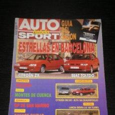 Auto: AUTO HEBDO SPORT Nº 314 - MAY 1991 - LANCIA DEDRA 16V / CITROEN XM 24V / ALFA 164 QUADRIFOGLIO. Lote 26022047