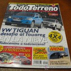 Coches: REV.TODO TERRENO Nº 94 2.2008.-V W TIGUAN DESAFIA AL TOUAREG, SALON DE DETROIT.. Lote 26043751