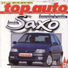 Voitures: REVISTA TOP AUTO Nº 79 AÑO 1996. PRUEBA: CHYSLER VISION AUTOSTICK. FERRARI F 355 GTS. VOLVO 850 R.. Lote 26105804