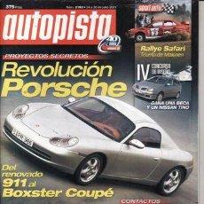 Coches: REVISTA AUTOPISTA Nº 2193 AÑO 2001. PRUEBA MERCEDES SLK AMG. VOLVO S60 DS OPTIMA. . Lote 51517405