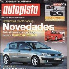 Coches: REVISTA AUTOPISTA Nº 2237 AÑO 2002. COMPARATIVA: CITROEN C3 1.4 HDI, FORD FIESTA 1.4 TDCI, BMW 745I. Lote 26980774