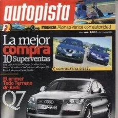 Coches - REVISTA AUTOPISTA Nº 2399 AÑO 2005. COMP: CITROEN C4 1.6 HDI, FORD FOCUS 1.6 TDCI, VW GOLF 1.9 TDI. - 27032603