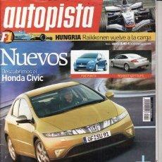 Coches: REVISTA AUTOPISTA Nº 2403 AÑO 2005. PRUEBA: MERCEDES ML 320 CDI. . Lote 154045704
