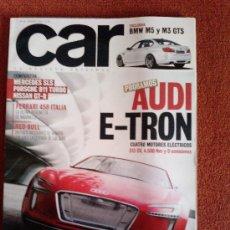 Coches: CAR -AUDI E-TRON MERCEDES SLS NISSAN GTR. Lote 27140676