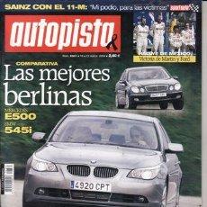 Coches - REVISTA AUTOPISTA Nº 2331 AÑO 2004. COMPARATIVA: FORD FOCUS C-MAX 2.0 TDCI, RENAULT SCÉNIC 1.9 DCI - 27313309