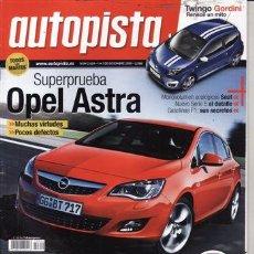 Coches: REVISTA AUTOPISTA Nº 2629 AÑO 2009. PRUEBA: PORSCHE 911 TURBO. VW POLO 1.2 TSI. OPEL ASTRA 2.0 CDTI.. Lote 27869939