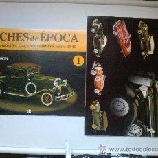 Coches: FASCICULO 0-1 COCHES DE EPOCA -HUDSON. Lote 27952189