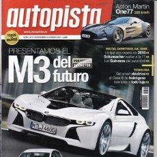Coches: REVISTA AUTOPISTA Nº 2633 AÑO 2010. PRUEBA JAGUAR XF 3.0 V6 D. SEAT LEÓN ECOMOTIVE 1.6 TDI. . Lote 28036197