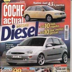 Coches: REVISTA COCHE ACTUAL Nº 565 AÑO 1999. PRU: SUZUKI GRAND VITARA 2.0 TDI. COMP: FIAT BRAVO 1.8 16V GT. Lote 28171319
