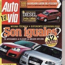 Coches: REVISTA AUTO VÍA Nº 197 AÑO 2006. PRUEBA: OPEL ASTRA TWIN TOP 1.9 CDTI COSMO. COMP: VW GOLF 2.0 TDI. Lote 28189703